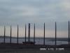 Baustelle f. Pegelturm 12.1.2000