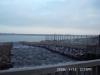 Flutungskanal am Pegelturm 12.1.2000