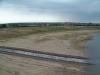 Blick vom Pegelturm zur Mündung Flutungskanal 15.6.2000