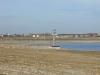 Pegelturm steht noch nicht im Wasser  4.4.2000