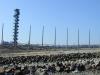 Pegelturm  4.4.2000 kurz nach der Fertigstellung